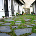 Picture - Walkway through Cemetery in Andorra.