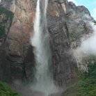 Picture - Angel Falls seen from the base.