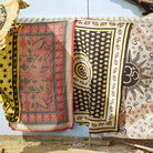 Picture - Textiles for sale in Anjuna.