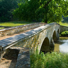 Picture - Burnside Bridge at Antietam Battlefield, Sharpsburg.