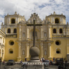 Picture - La Merced church in Antigua.