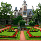Picture - Gardens in front of the Antwerp Zoo.