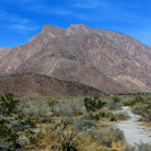 Picture - Mountains, Anza-Borrego Desert State Park.