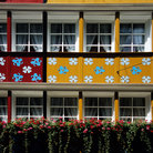 Picture - Colorful building in Appenzell.