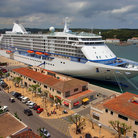 Picture - Cruise ship at the Port of Mahon.