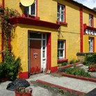 Picture - Colorful architecture of the Aran Islands.