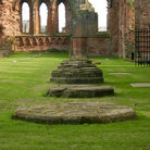 Picture - Grounds of the Arbroath Abbey.