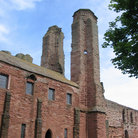 Picture - Towers of Arbroath Abbey.