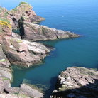 Picture - View of the coastline near Arbroath.