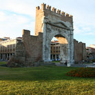 Picture - The Arch of Augustus in Rimini.