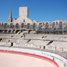 Picture - Portion of the Roman Arena in Arles.