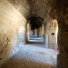 Picture - Corridor of the Roman Arena in Arles.