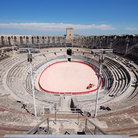 Picture - View over the Roman Arena, Arles.