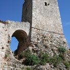 Picture - Tower in Kardamili in Messiniakos Bay.