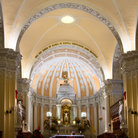 Picture - Interior view of the Cathedral in Arequipa.