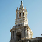 Picture - Arequipa Cathedral tower.