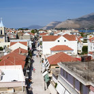 Picture - The View of the town center from the Bell Tower in Argostoli.