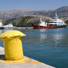 Picture - The harbor at Argostoli.