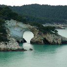 Picture - Natural Bridge in Gargano National Park.