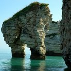 Picture - Rock formations in Gargano National Park.