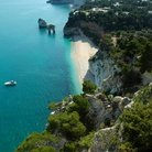 Picture - Beach in Gargano National Park.