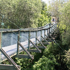 Picture - An old pedestrian bridge in Arroyo Grande.