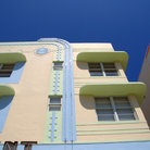 Picture - Art Deco building in the Art Deco district of Miami Beach.