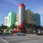 Picture - The Art Deco district of Miami Beach.