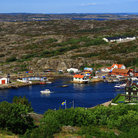 Picture - The view looking out from Marstrand Castle.