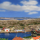 Picture - The small town of Marstrand.