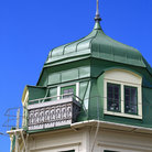 Picture - Architectural detail on the island Marstrand.