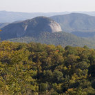 Picture - Looking Glass Rock on the Blue Ridge Parkway.