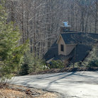 Picture - A cabin in the Blue Ridge Mountains.