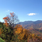 Picture - Mountains along the Blue Ridge Parkway.