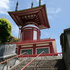 Picture - A pagoda at Yakuoji Temple.