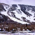 Picture - Ski runs on Aspen Mountain.