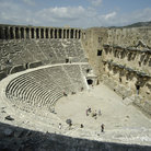 Picture - Roman Theater in Aspendos, the best preserved and one of the largest in Pamphylia region of Anatolia.