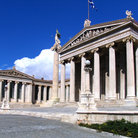 Picture - Buildings of the University of Athens.