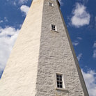 Picture - Historic lighthouse in Atlantic Highlands, New Jersey.