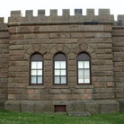 Picture - Castle wall in Atlantic Highlands, New Jersey.