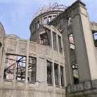 Picture - The A-Bomb Dome at Hiroshima.