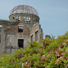 Picture - The atomic bomb dome in Hiroshima.