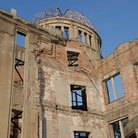 Picture - Reminder of the atomic bomb in Hiroshima.