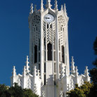 Picture - Clock tower of the Old Arts building at Auckland University.