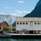 Picture - The village of Otternes in Aurlandsfjord.