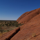 Picture - View from Ayers Rock.