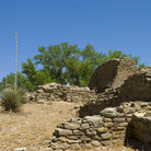 Picture - Cultural ruins at Aztec Ruins National Monument, New Mexico.