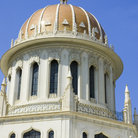 Picture - Bahai Shrine in Haifa, which contains the tomb of the founder of the Bahai faith.