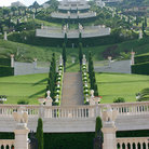 Picture - The Bahai gardens in Haifa.