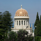 Picture - The Bahai temple and Bahai gardens in Haifa.